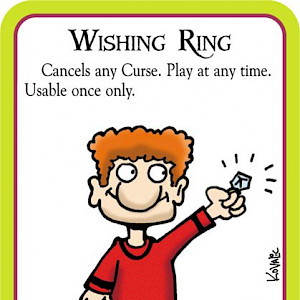 Wishing Ring Munchkin Cthulhu Promo Card cover