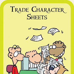 Trade Character Sheets Munchkin Cthulhu Promo Card cover