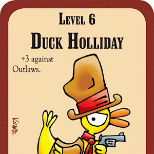 Duck Holliday The Good, the Bad, and the Munchkin Promo Card cover