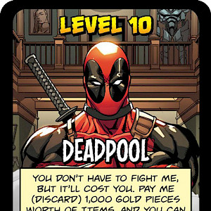 Deadpool Munchkin: Marvel Edition Promo Card cover
