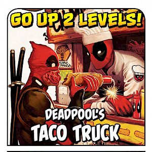 Deadpool's Taco Truck Munchkin: Marvel Edition Promo Card cover