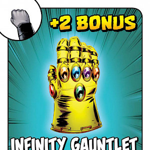 Infinity Gauntlet Munchkin: Marvel Edition Promo Card cover