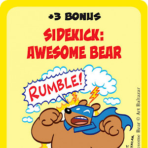 Sidekick: Awesome Bear Super Munchkin Promo Card cover