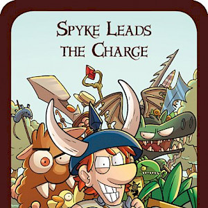 Spyke Leads the Charge Munchkin Promo Card cover