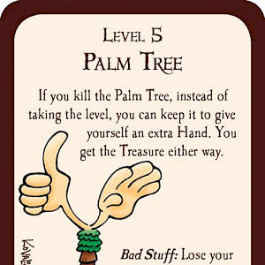 Palm Tree Munchkin Promo Card cover