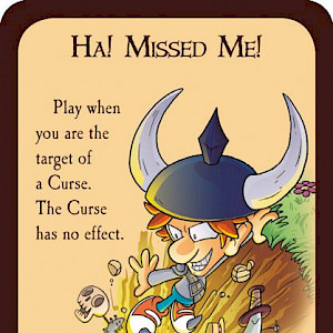 Ha! Missed Me! Munchkin Promo Card cover