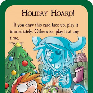 Holiday Hoard! Munchkin Promo Card cover