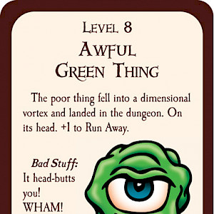 Awful Green Thing Munchkin Promo Card cover