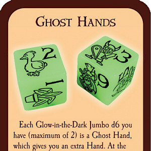 Ghost Hands Munchkin Promo Card cover