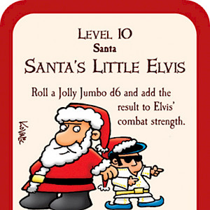 Santa's Little Elvis Munchkin Promo Card cover