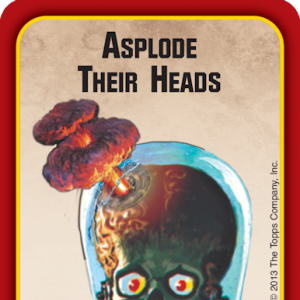 Asplode Their Heads Munchkin Apocalypse Promo Card cover