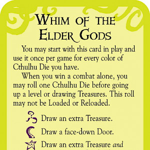Whim of the Elder Gods: Munchkin Cthulhu Promo Card cover