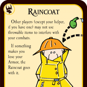 Raincoat Munchkin Quest Promo Card cover