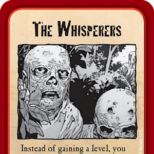 The Whisperers Munchkin Zombies Promo Card cover