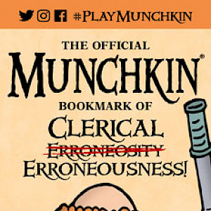 The Official Munchkin Bookmark of Clerical Erroneousness cover