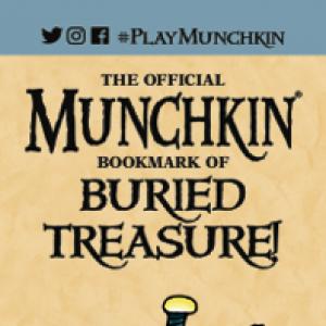 The Official Munchkin Bookmark of Buried Treasure cover