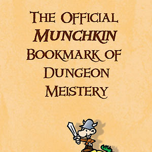 The Official Munchkin Bookmark of Dungeon Meistery cover