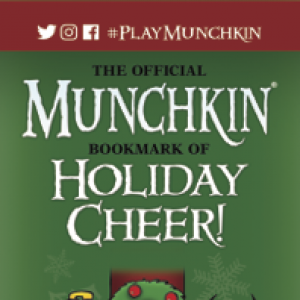 The Official Munchkin Bookmark of Holiday Cheer! cover