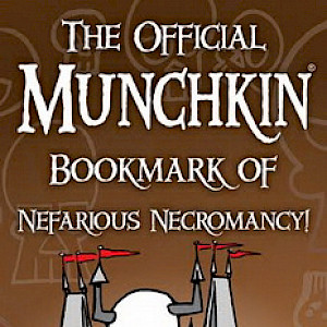 The Official Munchkin Bookmark of Nefarious Necromancy cover