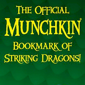 The Official Munchkin Bookmark of Striking Dragons! cover