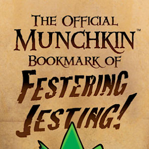 The Official Munchkin Bookmark of Festering Jesting! cover