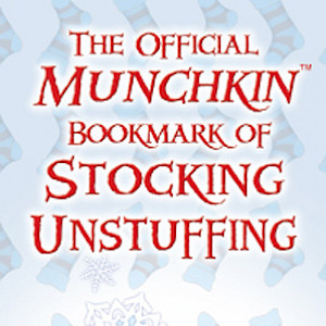 The Official Munchkin Bookmark of Stocking Unstuffing cover