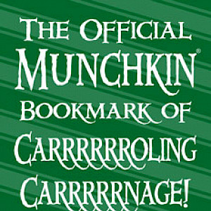 The Official Munchkin Bookmark of Carrrrrroling Carrrrrnage! cover