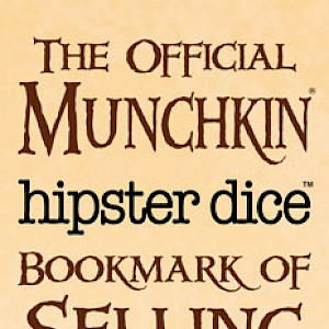 The Official Munchkin Hipster Dice Bookmark of Selling Out! cover