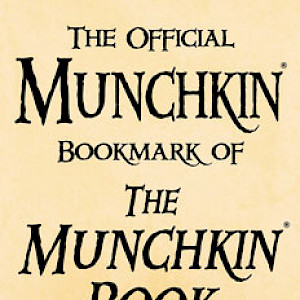 The Official Munchkin Bookmark of The Munchkin Book Bookmarking! cover