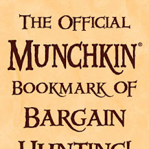The Official Munchkin Bookmark of Bargain Hunting! cover