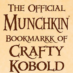 The Official Munchkin Bookmarkk of Crafty Kobold Kammoflage! cover