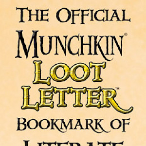 The Official Munchkin Loot Letter Bookmark of Literate Looting! cover
