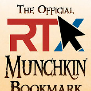 The Official RTX Munchkin Bookmark cover