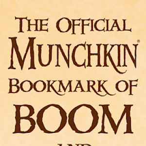 The Official Munchkin Bookmark of Boom and Bust! cover