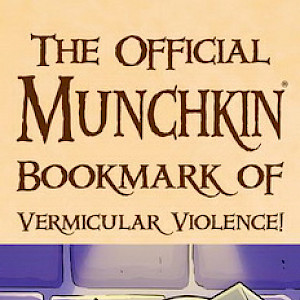 The Official Munchkin Bookmark of Vermicular Violence cover