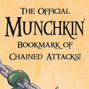 The Official Munchkin Bookmark of Chained Attacks cover