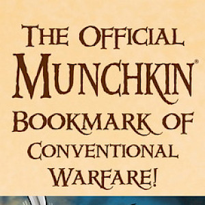 The Official Munchkin Bookmark of Conventional Warfare cover