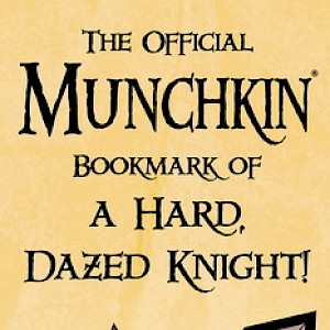 The Official Munchkin Bookmark of a Hard, Dazed Knight cover