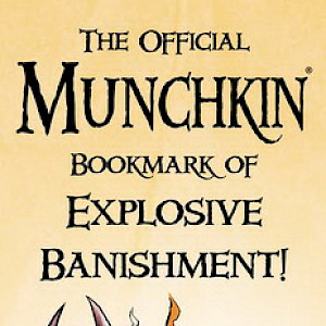 The Official Munchkin Bookmark of Explosive Banishment cover