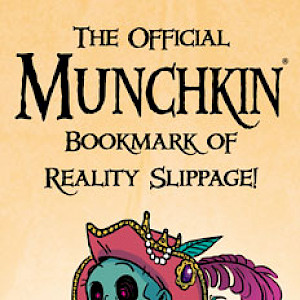 The Official Munchkin Bookmark of Reality Slippage! cover