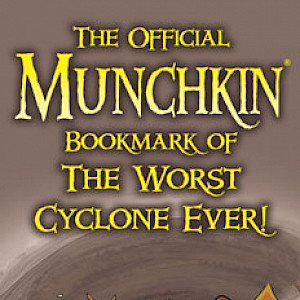 The Official Munchkin Bookmark of The Worst Cyclone Ever! cover