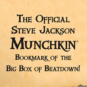 The Official Steve Jackson Munchkin Bookmark of the Big Box of Beatdown! cover