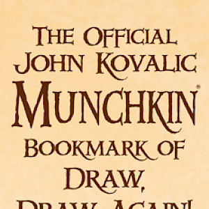The Official John Kovalic Munchkin Bookmark of Draw, Draw Again! cover