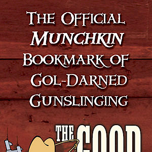 The Official Munchkin Bookmark of Gol-Darned Gunslinging cover