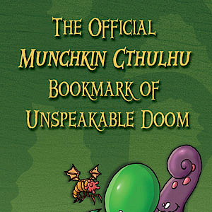 The Official Munchkin Cthulhu Bookmark of Unspeakable Doom cover