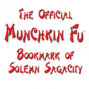 The Official Munchkin Fu Bookmark of Solemn Sagacity cover