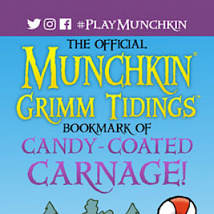 The Official Munchkin Grimm Tidings Bookmark of Candy-Coated Carnage! cover