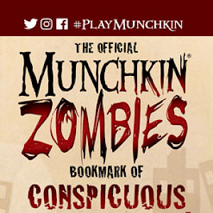 The Official Munchkin Zombies Bookmark of Conspicuous Consumption! cover