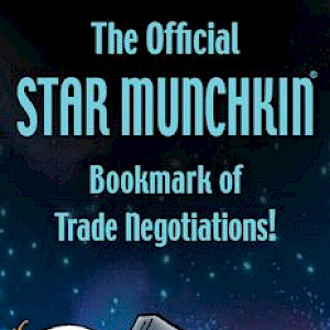 The Official Star Munchkin Bookmark of Trade Negotiations! cover