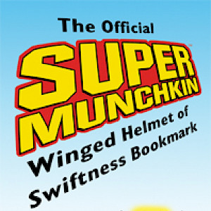 The Official Super Munchkin Winged Helmet of Swiftness Bookmark cover